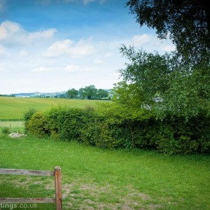 The view over our paddock and fields beyond